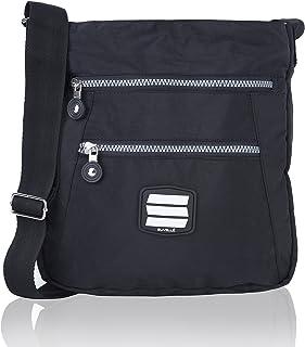 cc35312697a3 Suvelle Lightweight Go-Anywhere Travel Everyday Crossbody Bag Multi Pocket  Shoulder Handbag 20103