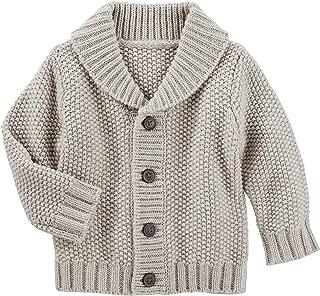 Baby Boys' Shawl Collar Cardigan