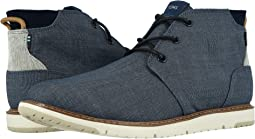 Navy Crosshatch Denim