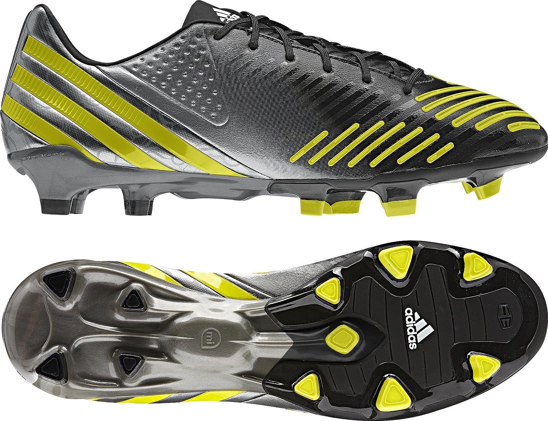 Rebaño excusa Practicar senderismo  Amazon.com   adidas Predator LZ TRX FG Soccer Cleats  (Black/Lablim/Neirme/Noir/CiVela/Fen, 6.5A)   Soccer