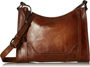 cognac leather hobo handbag