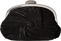 Jessica McClintock - Carly Satin Rouched Clutch Pouch