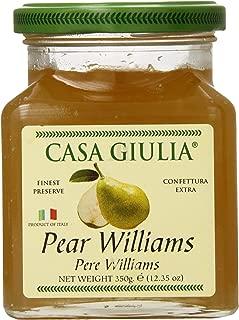Casa Giulia Jam, William Pear, 12.35 Ounce