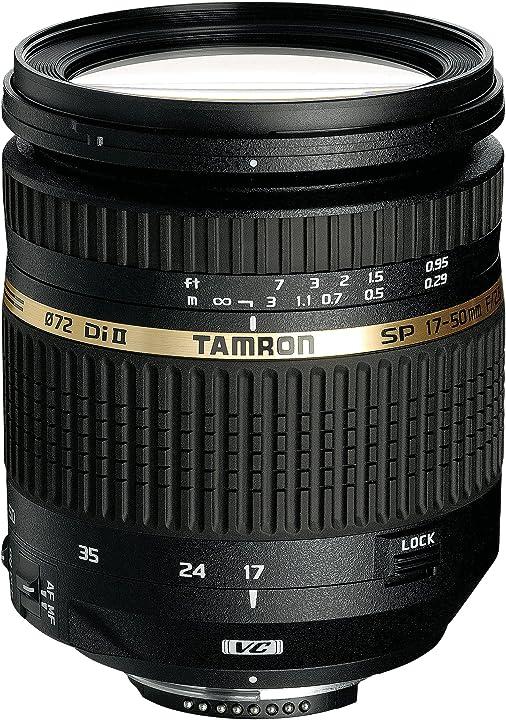 Obiettivo zoom per aps-c canon tamron sp af 17 - 50mm f/2.8 di ii vc B005-C