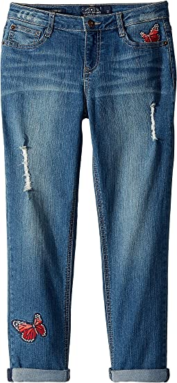 Lucky Brand Kids Demetra Butterfly Jeans in Ada Wash (Big Kids)