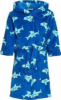 Playshoes Boys Shark Fleece Dressing Gown