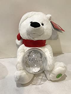 Plush Animated Message Pals White Teddy Bear Christmas Singing Jingle Bell Rock
