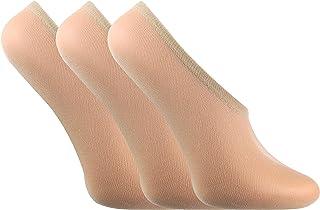 LIVIA - Mujer 3 pares 15 den invisible tobilleras finas verano cortas medias calcetines