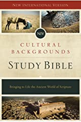 NIV, Cultural Backgrounds Study Bible: Bringing to Life the Ancient World of Scripture Kindle Edition