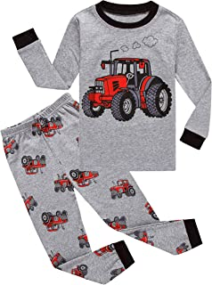 Family Feeling Little Boys Pajamas Sets 100% Cotton Pjs Toddler Kids Pj