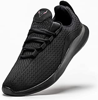 Mens Running Shoe Gym Lightweight Casual Sports Breathable Athletic Walking Tennis Shoes Workout Sneakers