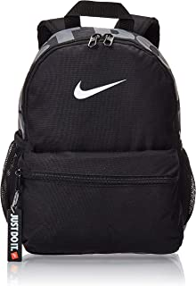 Nike Unisex-Child Backpack, Black/White - NKBA5559