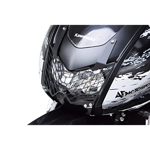 AE Motosports Kawasaki KLR 650 Head light guard