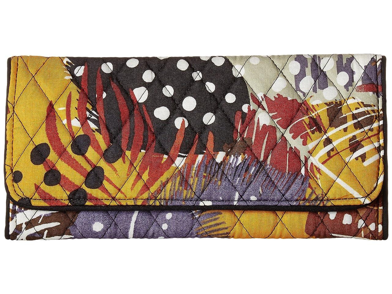 属性早い拍手[ヴェラ ブラッドリー] Vera Bradley レディース Trifold Wallet ウォレット Painted Feathers [並行輸入品]