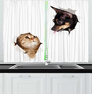 Best funny window curtains Reviews