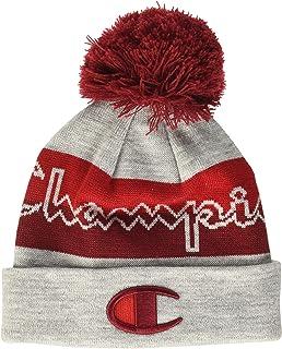 Champion Men's Script Knit POM Cold Weather Hat