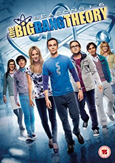 The Big Bang Theory Seasons 1-6  The Big Bang Theory - Seasons One to Six  NON-USA FORMAT, PAL, Reg.2 United Kingdom