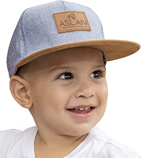 Aslan Original Baby Snapback Hat | Design Fashion Cap | Stylish Infant and Toddler Snapback Flat Brim Hat