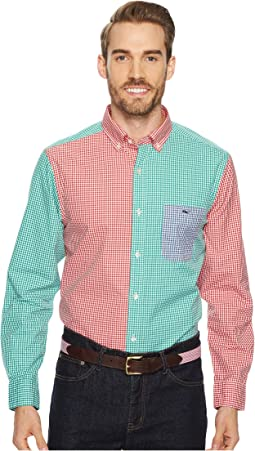 Vineyard Vines - Riverton Plaid Classic Tucker Shirt