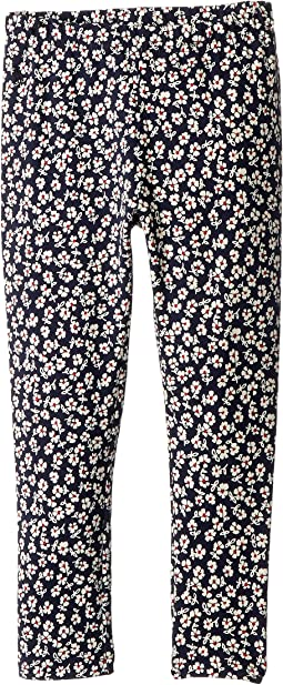 Polo Ralph Lauren Kids - Floral Stretch Cotton Leggings (Little Kids)
