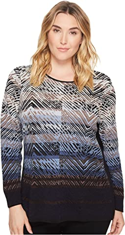 NIC+ZOE - Plus Size Coastline Top