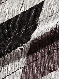 Argyle Wool Polo Sweater 38-12-0002-156: Grey