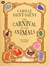The Carnival of the Animals in Full Score (Dover Music Scores)