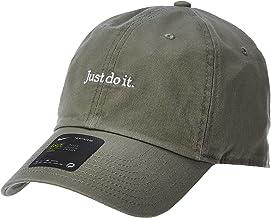 قبعة يو اس ان دابليو قابلة للغسل للبالغين من الجنسين H86 بطباعة «Just do it» من نايكي