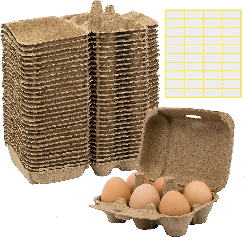 30 Pieces Paper Colorado Springs Mall Egg Ranking TOP12 Cartons for Pulp Tray Chicken Fiber Eggs