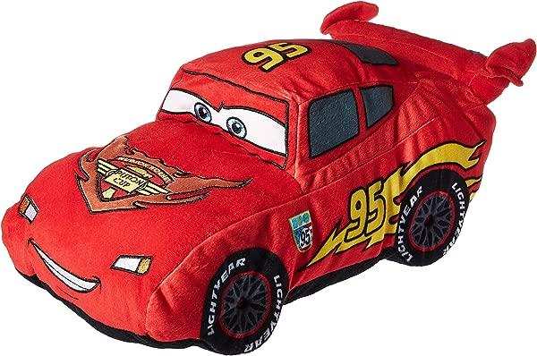 Disney Pixar Cars Plush Stuffed Lightning Mcqueen Red Pillow Buddy Kids Super Soft Polyester Microfiber 19 Inch Official Disney Pixar Product
