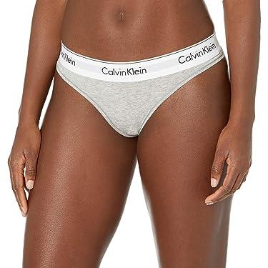 Pantaletas estilo tanga de algodón Calvin Klein, modernas para mujer