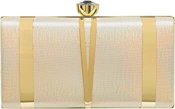 CARIEDO Women Evening Clutches Evening Handbag Bridal Purse Party Bags For Prom Cocktail Wedding