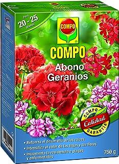 Compo Abono para geranios, Apto Flor, Envase estanco,