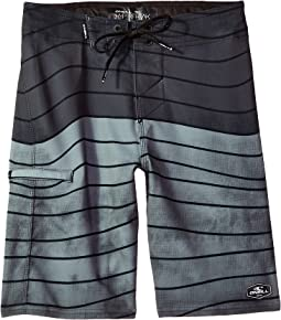 Hyperfreak Swell Superfreak Boardshorts (Big Kids)