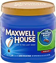 Maxwell House Original Medium Roast Ground Coffee Decaf (29.3 oz Canister)