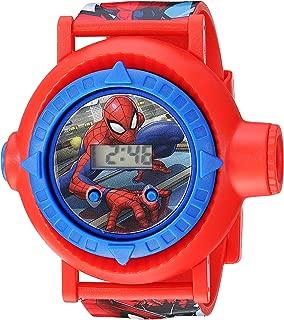 Spider Man Boys' Quartz Watch with Plastic Strap, red, 23.75 (Model: SPD4430)
