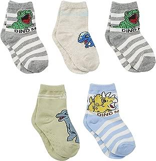 Kids Boys Cartoon Dinosaurs Avengers Animal Patterned Cotton Socks Baby Toddler Child Kids 5 Pairs Pack