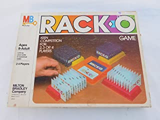 Vintage Rack-O Game Milton Bradley 1980