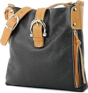 95c72d2851 Amazon.fr : Cuir - Sacs bandoulière / Femme : Chaussures et Sacs
