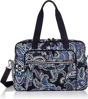 Vera Bradley Iconic Deluxe Weekender Travel Bag, Signature Cotton