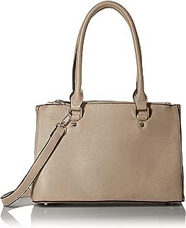 SOCIETY NEW YORK Women's Satchel Bag, Taupe