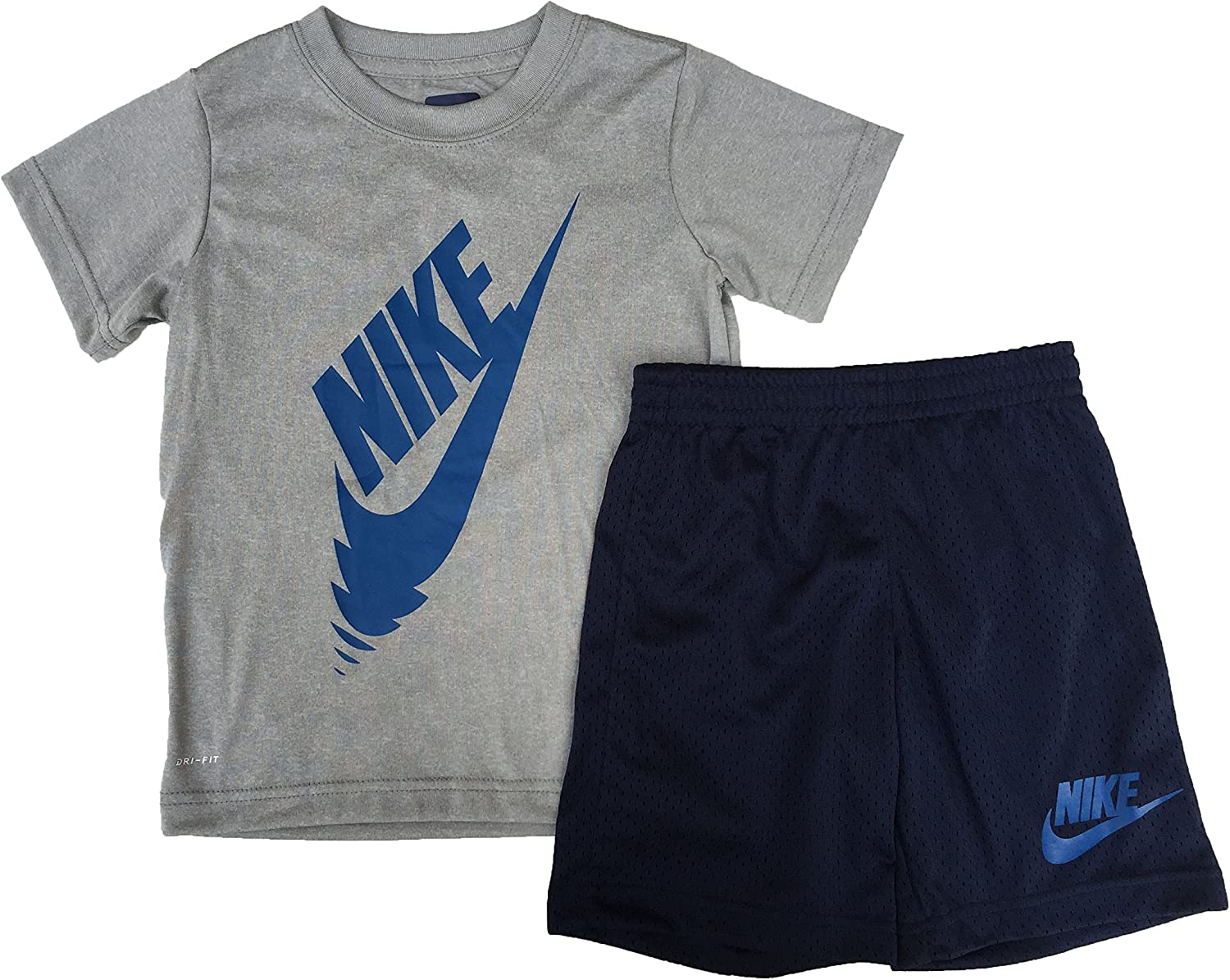 Rare Discount mail order Nike Baby Boys Infant 2 Piece Shorts Tee T-Shirt Set Swoosh