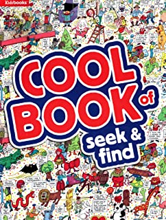 Cool Book of Seek & Find - Kids books - Activity Book