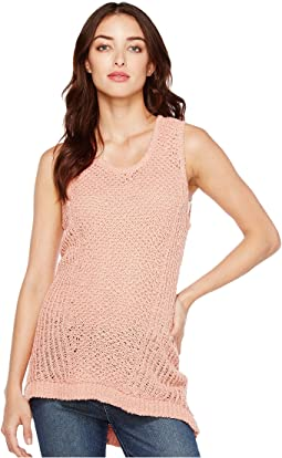 Novelty Textured Stitch Sweater Tank Top