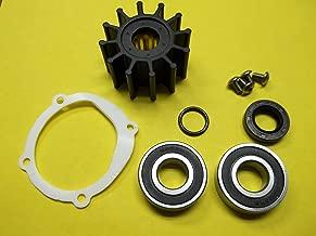 Johnson Sea Water Pump Repair Service rebuild Kit with bearings and Impeller 09-1027B-1 F5B-9 10-24228-1