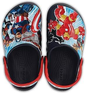 Crocs Infantil Clog FunLab Marvel Os Vingadores, Azul Marinho (Navy), Tamanho 25 BRA