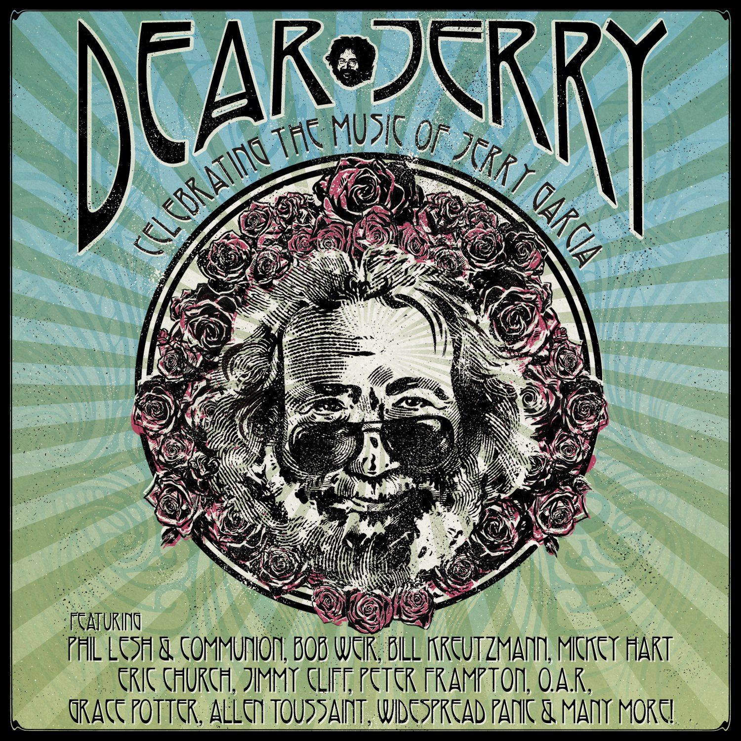 Dear Jerry: Celebrating The Free shipping / New Music High quality new Jerry Blu-Ray Of Garcia