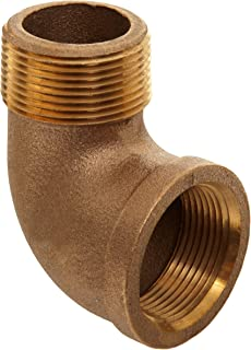Brass Pipe Fitting, Class 125, 90 Degree Elbow, 1