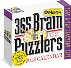 Mensa 365 Brain Puzzlers Page-A-Day Calendar 2018