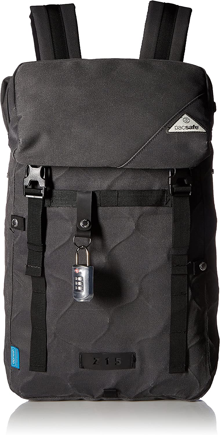 PacSafe Ultimatesafe Z15 Anti-Theft Backpack, Charcoal